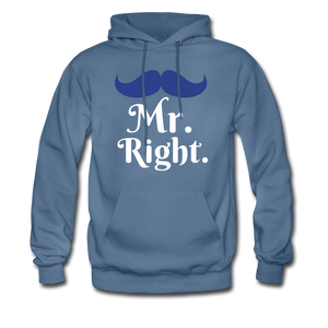 Mr. Right - denim blue