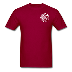 W. Dale Tee - dark red