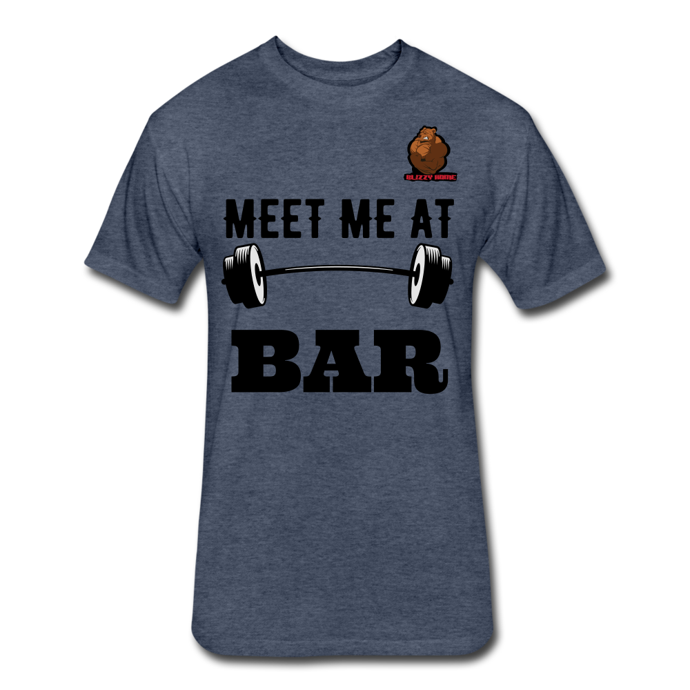 Meet Me at the Bar Tee - heather navy