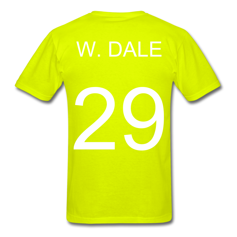 W. Dale Tee - safety green