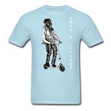 Swag-A-Licious Tee - powder blue