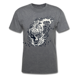 Sparkle Skull Tee - mineral charcoal gray