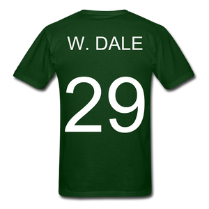 W. Dale Tee - forest green