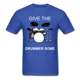 Drummer Tee - royal blue