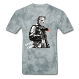 S-T Killer Tee - grey tie dye