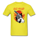 Kill Tee - yellow
