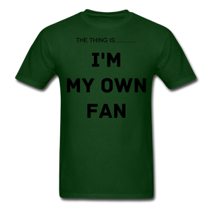 My Own Fan - forest green