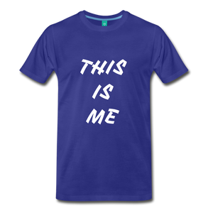 This is me Tee - royal blue