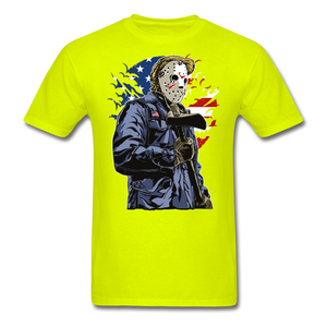 Trump Killer Tee - safety green