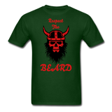 The Beard Tee - forest green