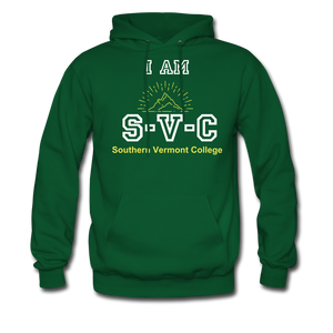 I Am SVC Hoodie - forest green