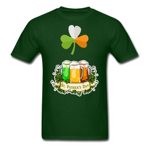 St. Pats Tee - forest green