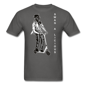 Swag-A-Licious Tee - charcoal