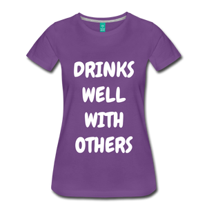 DRINKS WELL - purple