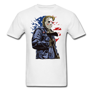 Trump Killer Tee - white