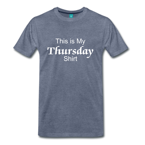 Thursday Shirt - heather blue