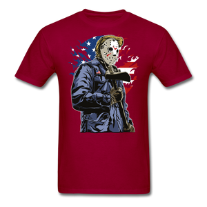 Trump Killer Tee - dark red