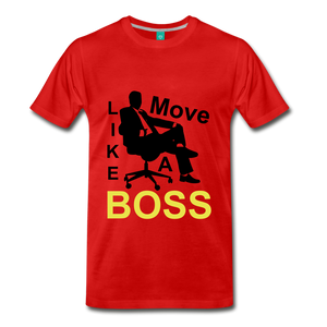 Move Like A Boss - red
