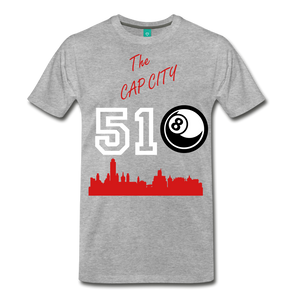 The Cap City 518 - heather gray