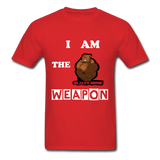 I AM THE WEAPON - red