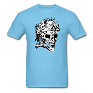 King Skull Tee - aquatic blue