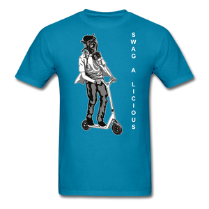 Swag-A-Licious Tee - turquoise