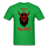 The Beard Tee - bright green