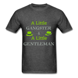 Ganster & Gentleman Tee - heather black