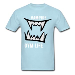 Vamp Gym Tee - powder blue