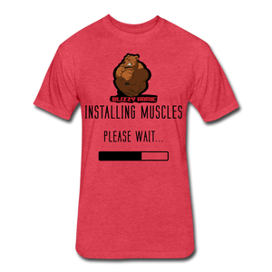 Installing Muscles Tee - heather red