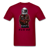 Fly Tee - dark red