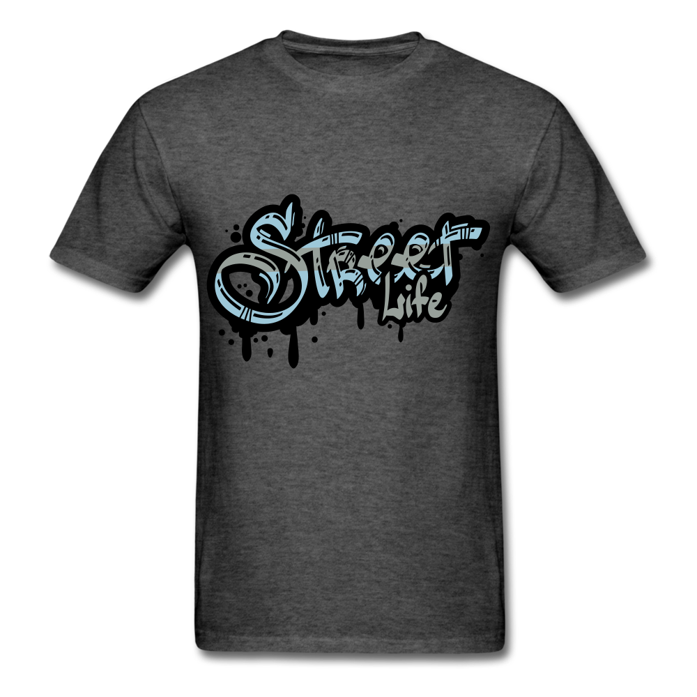 Street Tee - heather black