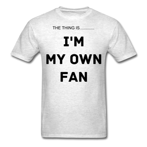 My Own Fan - light heather grey