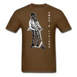 Swag-A-Licious Tee - brown