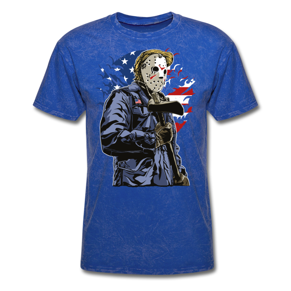 Trump Killer Tee - mineral royal