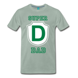 SUPRER DAD - steel green