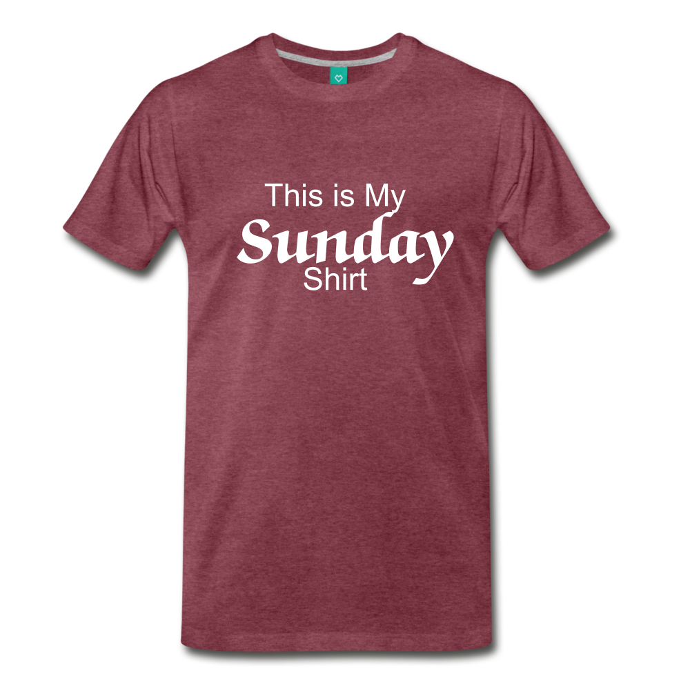Sunday Shirt - heather burgundy