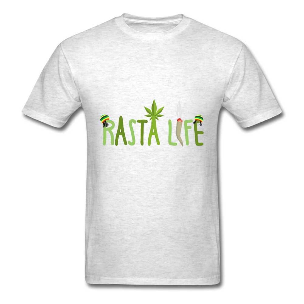 Rasta Life - light heather grey
