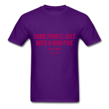 High Five Tee - purple