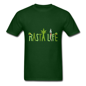 Rasta Life - forest green