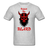 The Beard Tee - heather gray