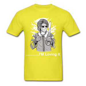 Loving it Tee - yellow