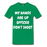 DON'T SHOOT TEE - kelly green