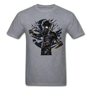 Scissor Hand Tee - mineral charcoal gray