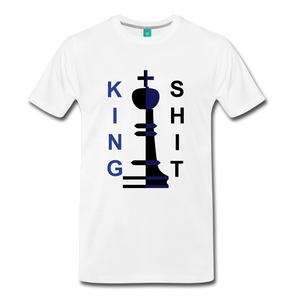 King Shit Tee - white