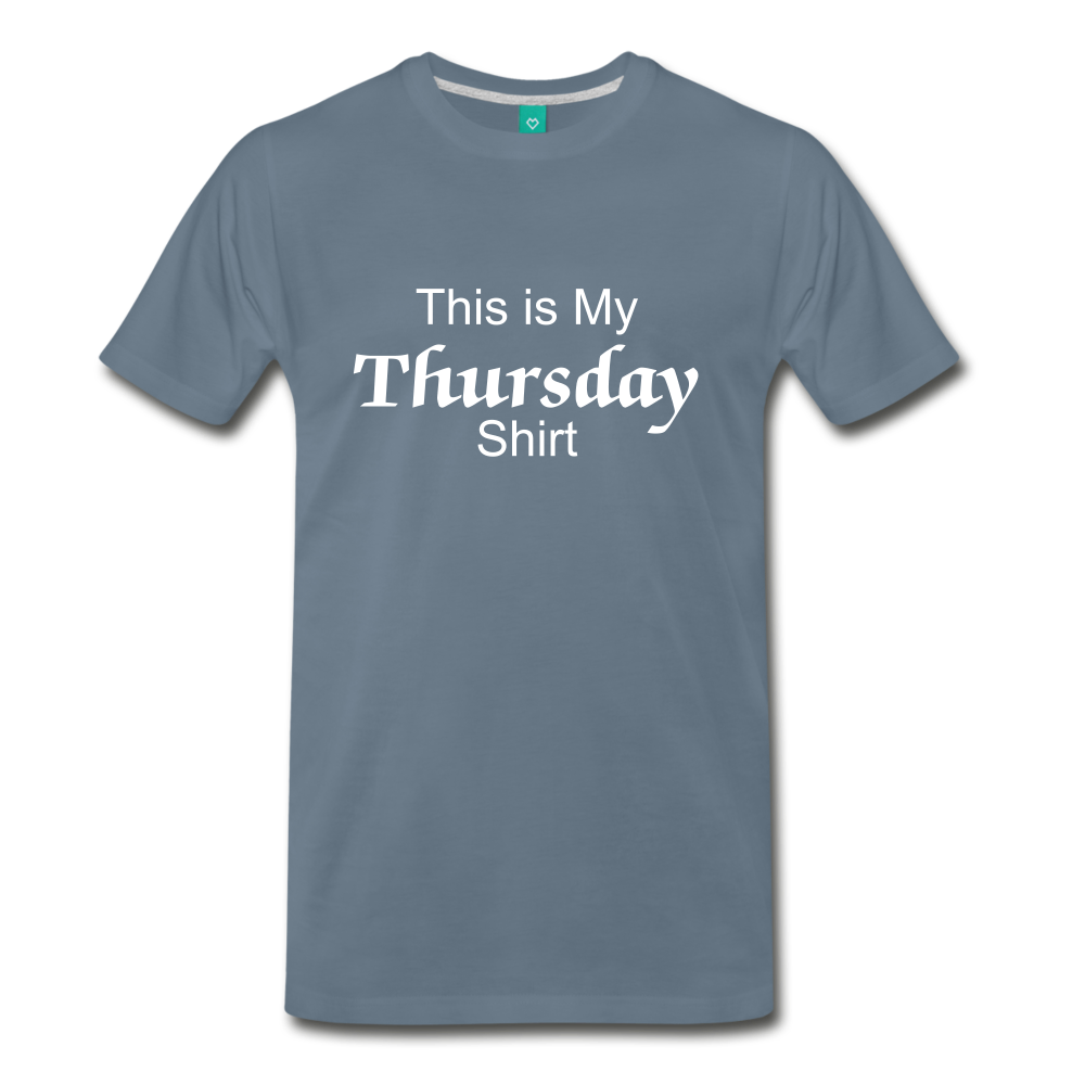 Thursday Shirt - steel blue
