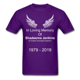 Shadeema Tee - purple