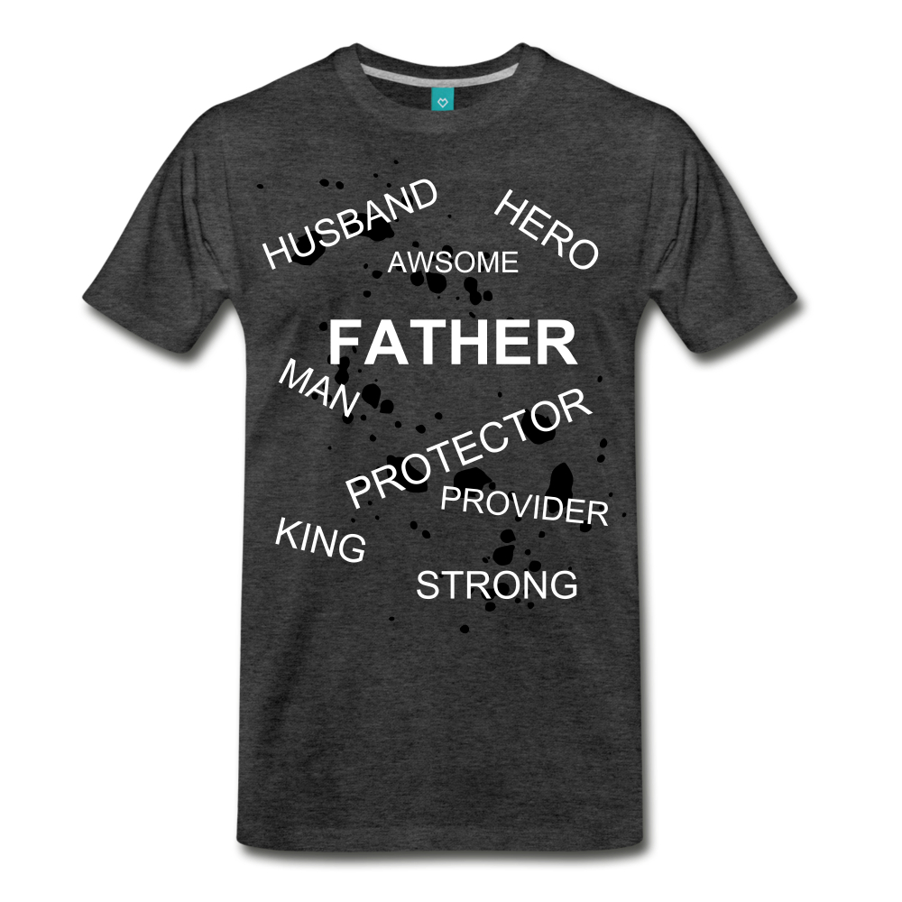 FATHER PLUS - charcoal gray