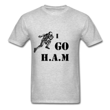 H.A.M Tee - heather gray
