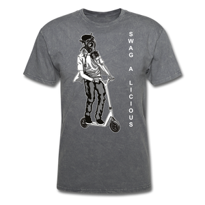 Swag-A-Licious Tee - mineral charcoal gray